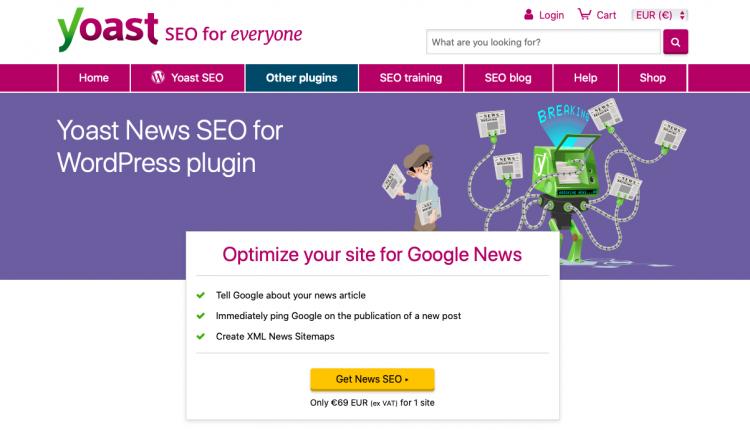 Yoast News SEO Premium 12.6 – WordPress Plugin