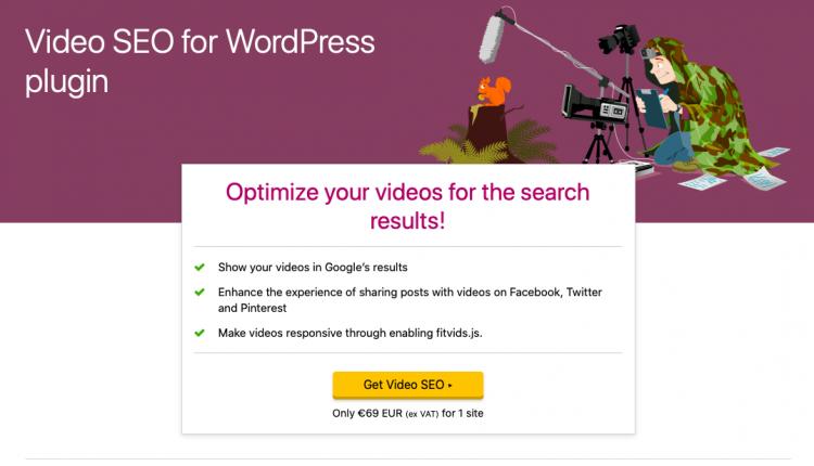 Yoast Video SEO Premium 13.6 – WordPress Plugin