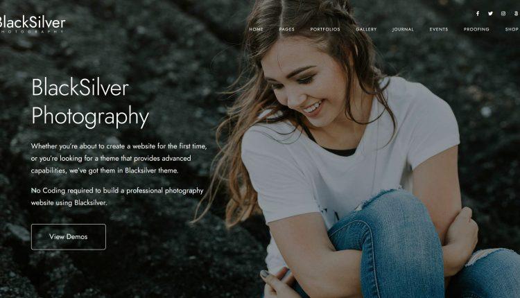 Blacksilver WordPress 8.5.0 – Best Photography Theme
