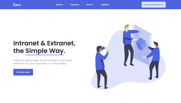 Cera WordPress 1.1.5 – Intranet & Community Theme