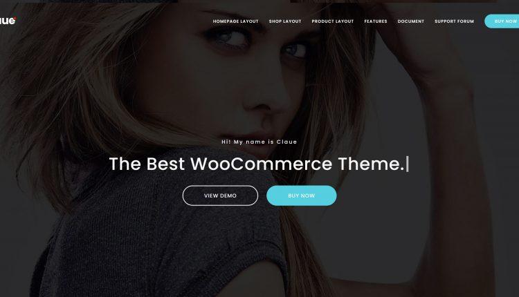 Claue WooCommerce 2.1.3 – Clean, Minimal Elementor Theme