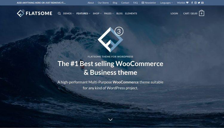 Flatsome WooCommerce 3.13.1 – MultiPurpose Responsive Theme