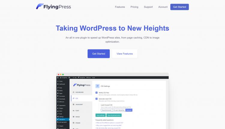 FlyingPress Pro Plugin 2.13.1 – Taking WordPress to new heights