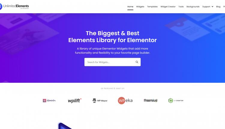 Unlimited Elements Premium for Elementor 1.4.66 – WordPress Plugin