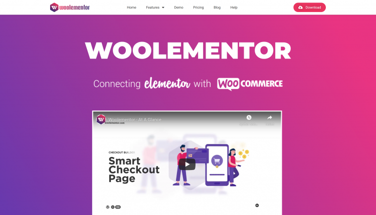 Woolementor Pro WordPress 2.2.0 – Premium Feature Unlocker Plugin