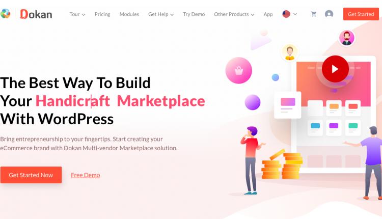 Dokan Pro 3.2.1 Business – The Complete WordPress Multivendor e-Commerce Solution