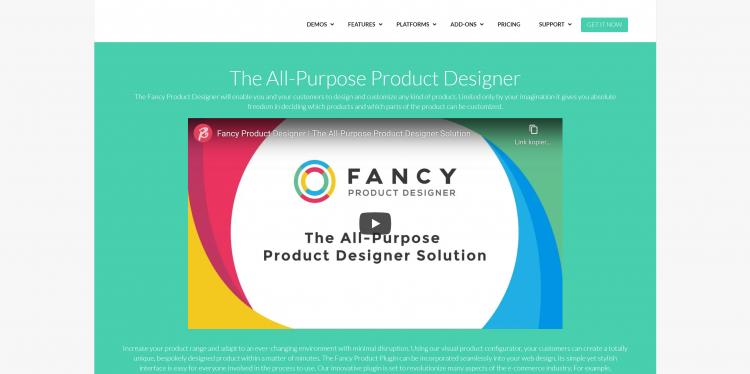 Fancy Product Designer WordPress Plugin 4.6.6