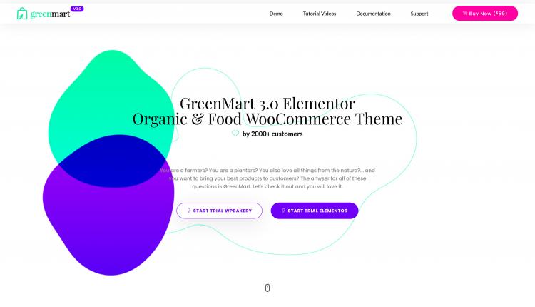 Greenmart WooCommerce 3.0.8 – Organic & Food Theme